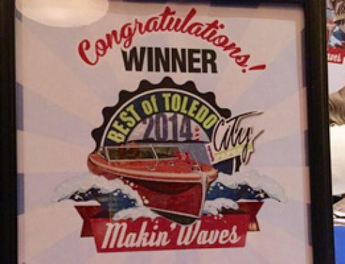 Deet's Receives 2014 Best of Toledo Award