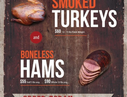 Smoked Turkeys & Hams!